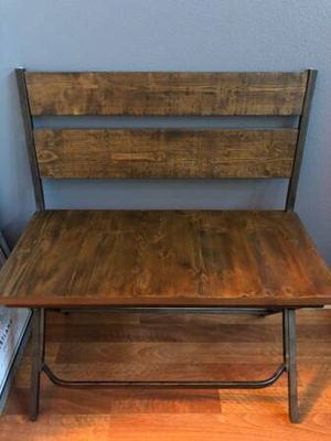 Bench and barstool for sale for Sale in Tigard, OR