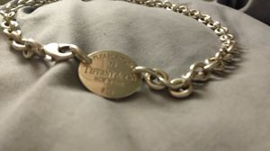 Tiffany dog tag choker for Sale in Seattle, WA