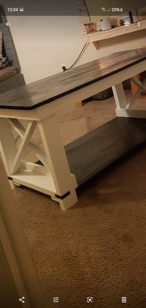 Barn style coffee table for Sale in Aston, PA