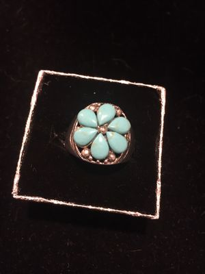 Genuine Turquoise Ring for Sale in Gilbert, AZ