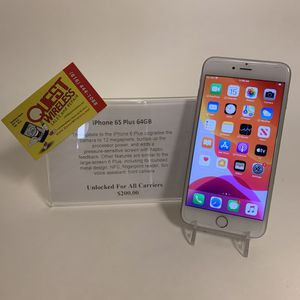 iPhone 6S Plus 64GB Unlocked for Sale in Mission Hills, KS