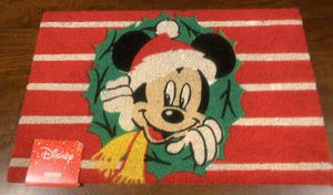 New Disney Mickey Mouse Christmas Doormat for Sale in Glendale, CA