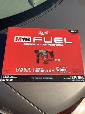 """Milwaukee 1"""" sds plus rotary hammer drill for Sale in Franklin, TN"""