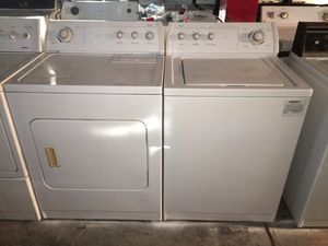 Whirlpool washer and electric dryer Matching set !!! for Sale in Florissant, MO