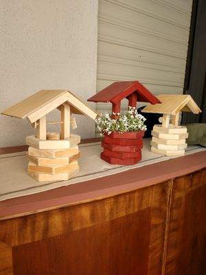 Handcrafted Wooden Wishing Wells for Sale in Apache Junction, AZ