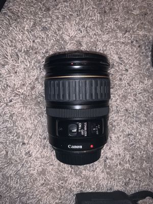 Canon camera lenses, camera bag, camera and charger for Sale in Broken Arrow, OK