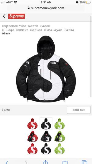 Supreme Northface TNF S logo Summit Series Himalayan Parka (Medium) for Sale in Daly City, CA