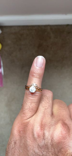 Wedding ring and band for Sale in Galena, OH
