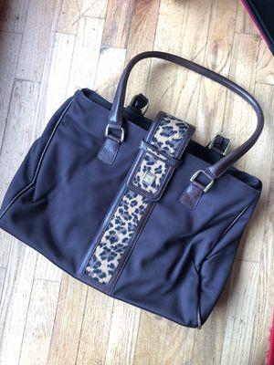 Diane Von Furstenberg Leopard messenger bag for Sale in Renton, WA