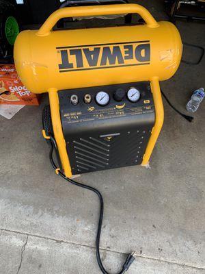 Dewalt 4.5 Gal. Portable Electric Air Compressor for Sale in Paramount, CA