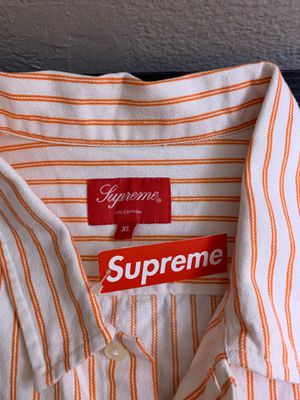Supreme button up for Sale in Rancho Cucamonga, CA