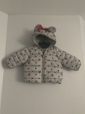 Minnie Mouse Gap Disney Puffer Jacket Size 6mo-12mo!!! for Sale in Washington, DC