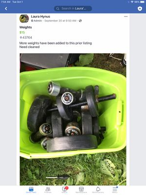 Weights for Sale in Junction City, OH