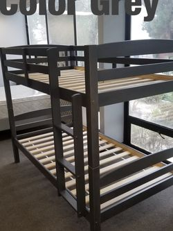 Twin bunk beds. 3 colors to choose from. Bunk beds come in a box. Assembly not included in price. Price includes tax and delivery. Cash only. Colo for Sale in Whittier,  CA