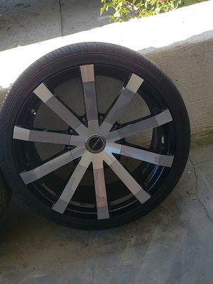 Wheels/Tires 245/35ZR20 for Sale in Selma, CA