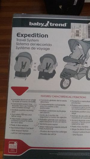 Baby trend expedition unopen for Sale in Rochester, NY