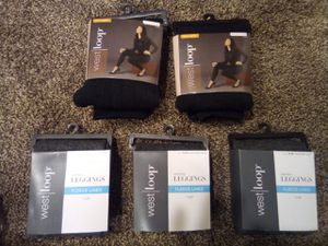 5 brand new packs of leggings for $20 for Sale in Denver, CO