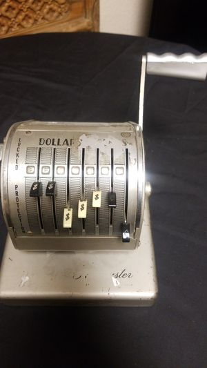 Vintage check writer for Sale in Montclair, CA