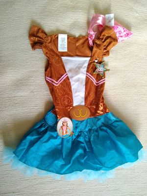 New sheriff Callie Halloween dress with tag for Sale in Hayward, CA