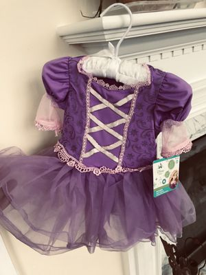 NEW w/tag, INFANT RAPUNZEL dress w/headband and snap closure crotch for diaper change. for Sale in UPR MAKEFIELD, PA
