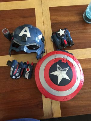 Captain America Toys Shield Mask for Sale in Severn, MD