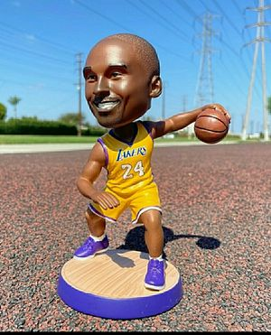New for Los Angeles Lakers fans Kobe Bryant Action figure Doll Toy for Christmas gifts for kids (New in Box) for Sale in Anaheim, CA