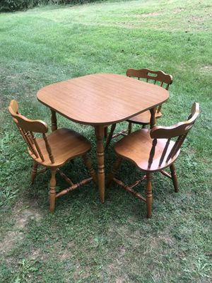Dining/kitchen table and 3 chairs for Sale in Purcellville, VA