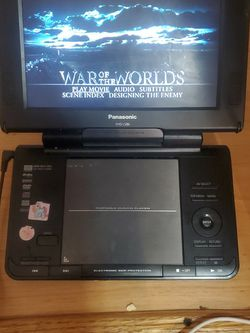 "Panasonic DVD-LS86 Portable DVD Player (8.5"") for Sale in Edmonds,  WA"