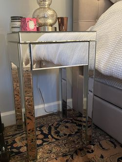 Mirrored Side Tables - Set Of 2 for Sale in New York,  NY