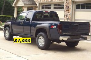 $1.OOO I'm selling urgently 2004 Chevrolet Colorado Truck V6. for Sale in Vancouver, WA
