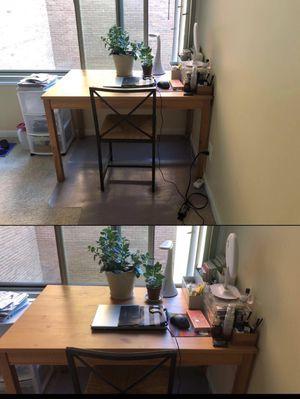 IKEA Desk& chair for Sale in Fairfax, VA