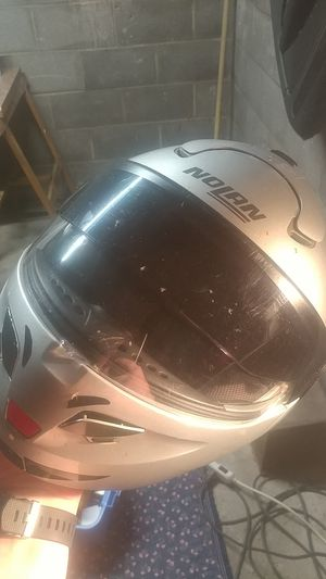 Nolan motorcycle helmet-flip up closed face for Sale in Parma, OH