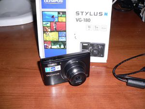 Olympus Stylus 16-Megapixel Digital Camera with 5x Wide Optical Zoom (VG-180) for Sale in Chicago, IL