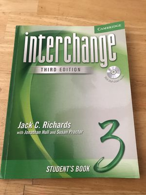Interchange (third edition) w/ CD for Sale in Los Angeles, CA