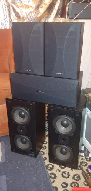 Onkyo surround sound speakers for Sale in Reisterstown, MD