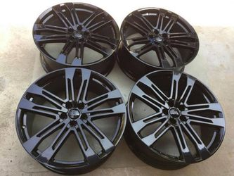 "21"" Audi Q5 SQ5 A8 A7 S7 black OEM Wheels Rims Rines for Sale in Huntington Beach,  CA"
