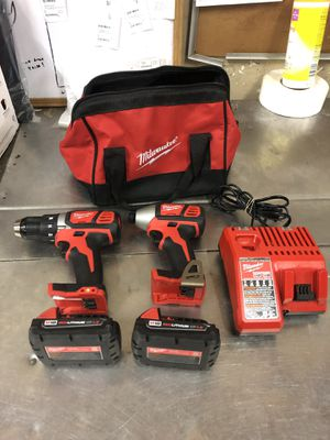 Milwaukee Drill Set/Combo for Sale in Houston, TX