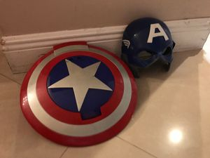 Captain America shield and helmet for Sale in Miami, FL
