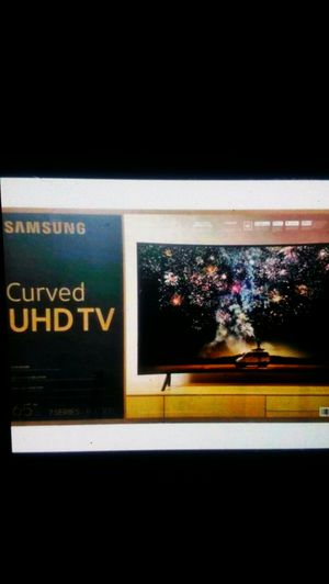 Price firm brand new 65-inch curved 4K smart 7300 model no Trading for Sale in Winston-Salem, NC