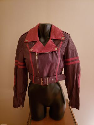 Jean Paul Gaultier for Target Leather Cropped Moto Jacket for Sale in Cleveland, OH