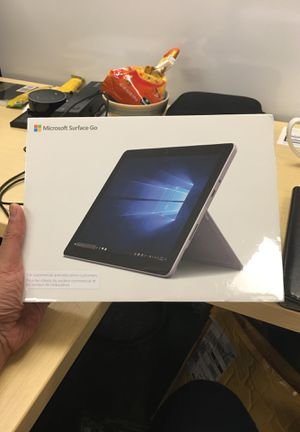 Brand new still unpacked Microsoft Surface Go for Sale in Mission Viejo, CA