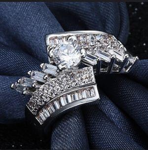 18K Gold bond Ring - Alti/ Cubic/ solitare for Sale in Dallas, TX