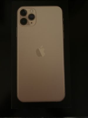 Iphone 11 pro max 256GB Silver Factory unlocked for Sale in Reston, VA