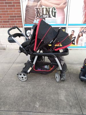 Greco click n go double stroller for Sale in Houston, TX