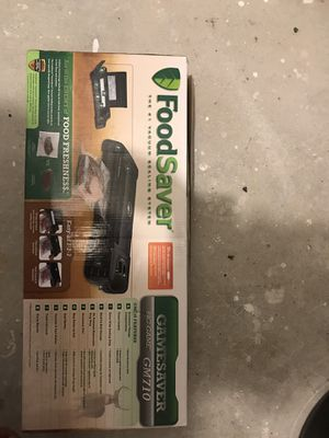 Food saver vacuum brand new $220 retail for Sale in Woonsocket, RI