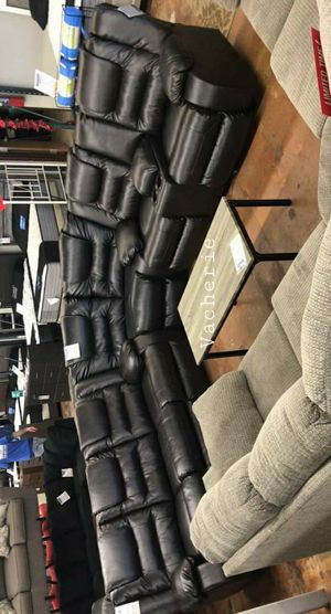 👑BEST PRICE IN MD!👑Vacherie Black Reclining Sectional for Sale in Rockville, MD