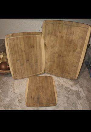 Bamboo Cutting Boards In Chandler, AZ for Sale in Chandler, AZ