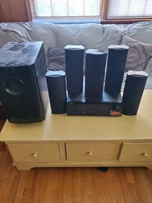 Surround sound onkyo denon for Sale in Newport News, VA