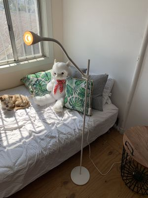 WHITE IKEA FLOOR LAMP for Sale in Los Angeles, CA