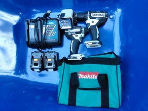 Makita drill & impact combo for Sale in Lacey, WA